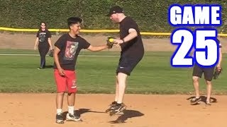 CRAZIEST CATCH YOU'LL SEE THIS YEAR! | On-Season Softball Series | Game 25
