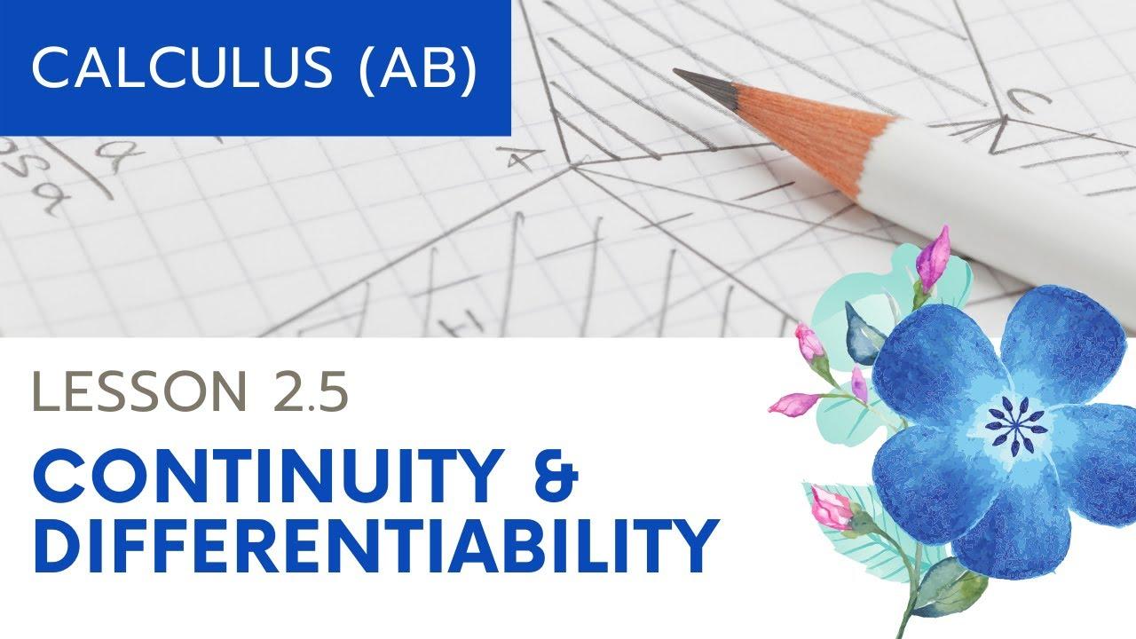 2.3 differentiabilityap calculus calculator