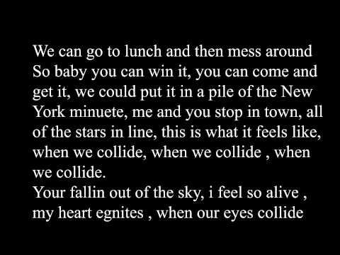 Jake Miller - Collide [Lyric]