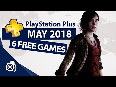 PlayStation Plus (PS+) May 2018