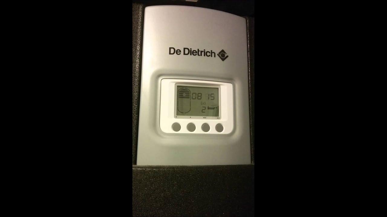 chauffe eau thermodynamique twh 300 e de dietrich youtube. Black Bedroom Furniture Sets. Home Design Ideas