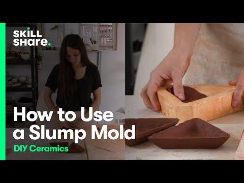 DIY Ceramics: How to Use a Slump Mold