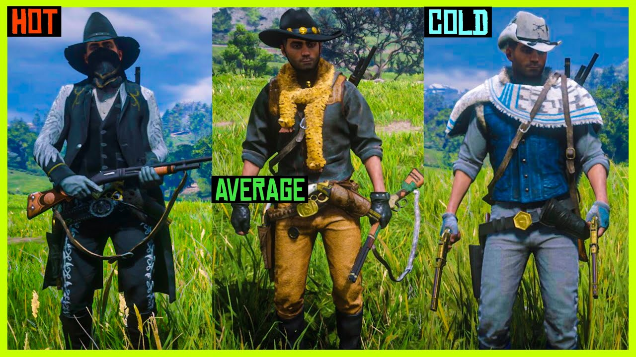 Red Dead Online New Outfits Good Looking Clothes - YouTube