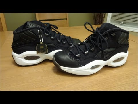 Reebok Question Black Canvas - Detailed Review