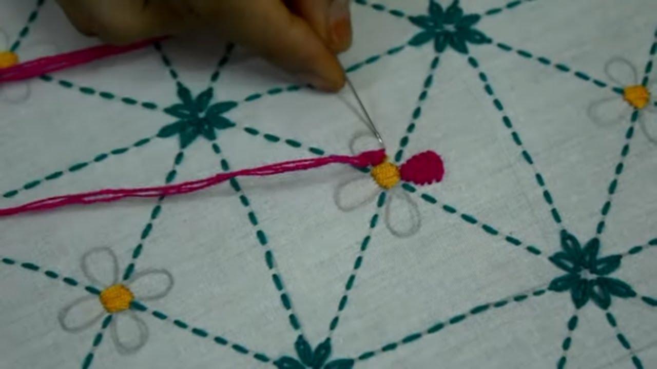 সুন্দর একটি  বড় নকশী কাঁথার  নকশা আঁকা সহ সেলাই || How to Make baby kantha | Epi-159