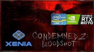 Xenia xbox 360 emulator condemned 2 bloodshot ingame