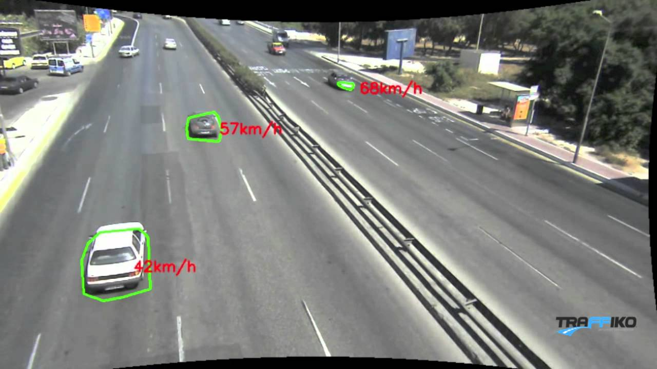 Advanced Speed Camera with Tracking, Flow Analysis and Counting