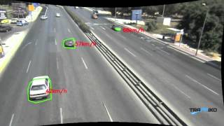 advanced speed camera with tracking flow analysis and counting