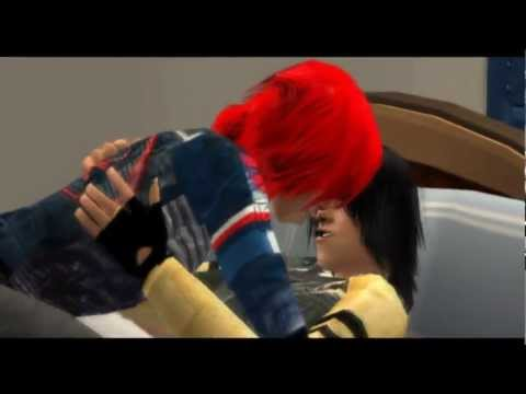 Party Poison and Fun Ghoul get down (SIMS 2) FRERARD