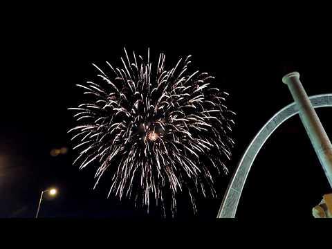 Canada Day 150! Winnipeg MB Fireworks