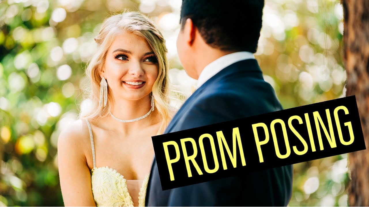 How to Take Prom Pictures - Prom Posing With Closeness + Variety, but No PDA