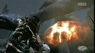 First Official God of War 3 Gameplay VGA