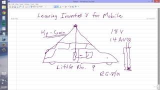 leaning inverted v for mobile