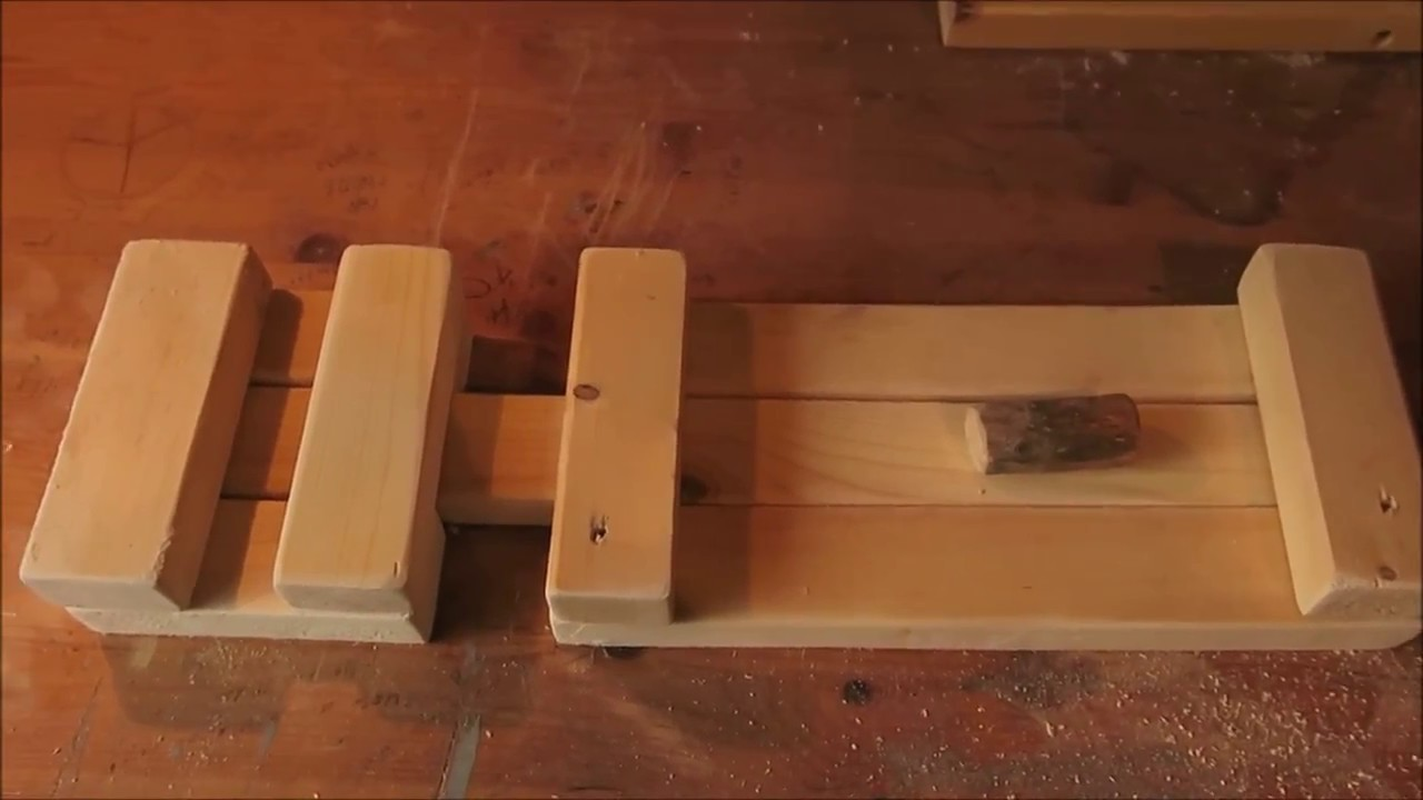 How To Make A Rustic Wooden Barn Latch Youtube