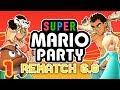 Super Mario Party РЕВАНШ 6.0 - Человек Дождя   Time Wobblers Versus