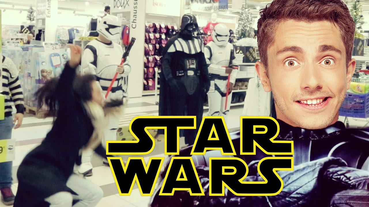 Camera Cachee Star Wars : La caméra cachée star wars ! star wars prank youtube