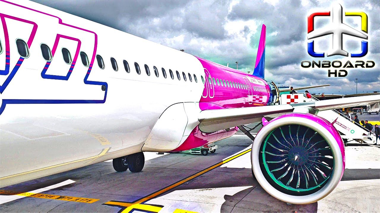 Trip Report Wizzair A321 Neo First In Youtube Rome Budapest Youtube