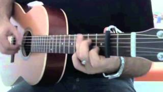 "Jingle Bells "" Fingerstyle Guitar Solo """