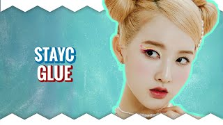 """How Would STAYC Sing 9MUSES - """"GLUE"""" • Line Distri…"""