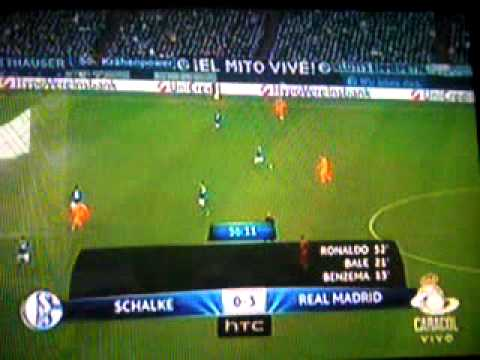 Real Madrid vs Schalke 04 (6 - 1)