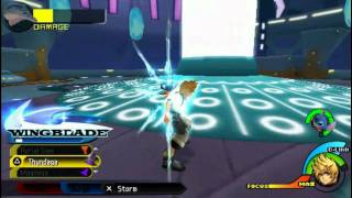[USA] Kingdom Hearts Birth By Sleep - Walkthrough [47] Ventus ~ Deep Space [2] - Metamorphosis Boss