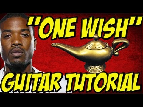 One Wish(Guitar Tutorial)- Ray J