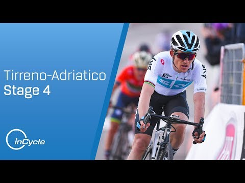 Tirreno-Adriatico 2018: Stage 4 Highlights