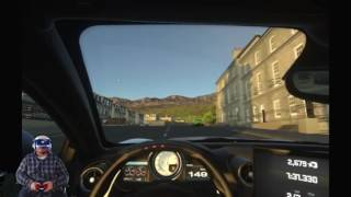 PLAYSTATION VR DRIVE CLUB DEMO!