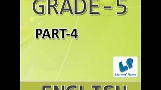 Grade 5 English Grammar Online Practice Book For Kids