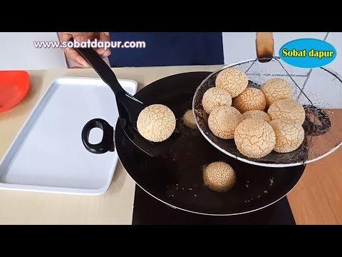 Membedah resep onde-onde kentang menul tidak meletus