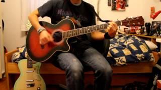 Tenacious D - History (Acoustic Guitar Cover)