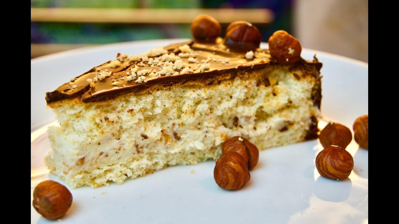 Haselnuss Schokoladen Torte Hazelnut Choco Cake Soft