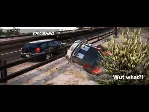 Need for Speed Hot Pursuit 100 Best Car Crashes Ever Tr... | Doovi