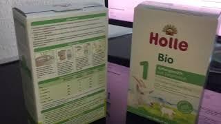 Гипоаллергенное детское питание Holle