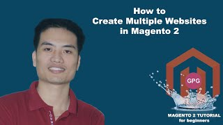 How to create multiple websites in Magento 2