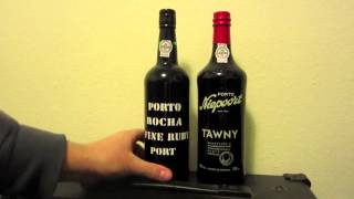 90 second guide to port wine - should you choose Ruby or Tawny