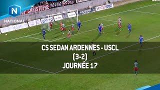 J17 : CS Sedan Ardennes - USCL (3-2), le résumé