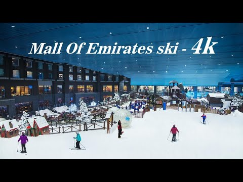 MALL OF THE EMIRATES – Ski Dubai , Enjoy the Snow ,  Meet the Penguins & Learn to Ski