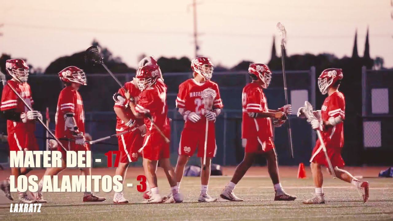 Mater Dei Lacrosse @ Los Alamitos - April 7th, 2021