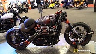2015 Harley-Davidson Street 750 Custom Bike - Walkaround - 2015 Salon Moto de Montreal
