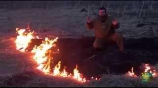 Весенний пал. Безопасность во время низовых пожаров.