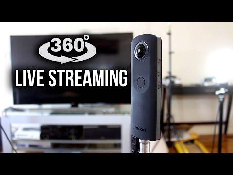 YouTube 360° live