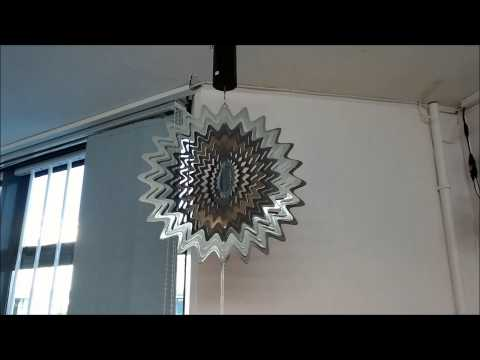 Laser Cut Stainless Steel Wind Spinners