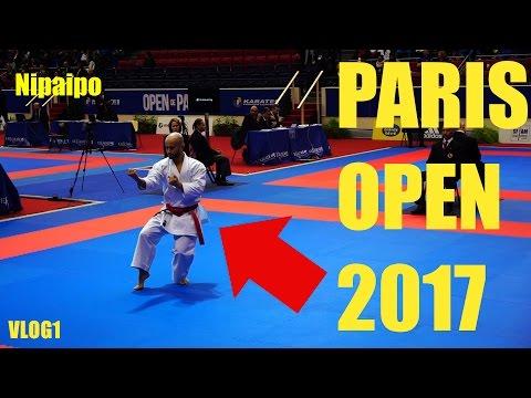 Karate1 PREMIERE LEAGUE Paris Open 2017 VLOG (ENG SUBS) - TEAM KI