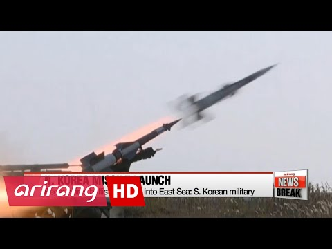 N. Korea fires ballistic missile into East Sea: S. Korean military