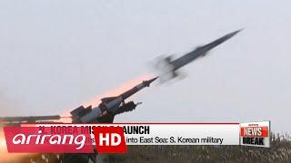 N. Korea fires ballistic missile into East Sea: S. Korean military