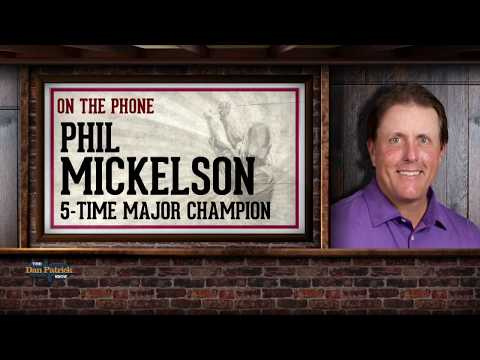 Phil Mickelson Talks Winning, Tiger and His Future | The Dan Patrick Show | 3/8/18
