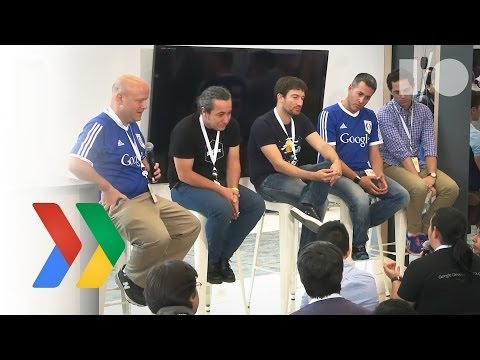 Google I/O 2014 - Silicon valley startups and incubators vs. global ones - panel
