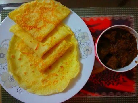 ডিম চিতই রুটি রেসিপি  Bangali Dim Chitoi Ruti recipe  
