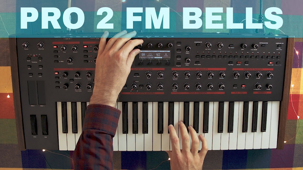 DSI PRO 2 FM BELLS SOUND DESIGN TUTORIAL ~ Synthesize This! Ep 05